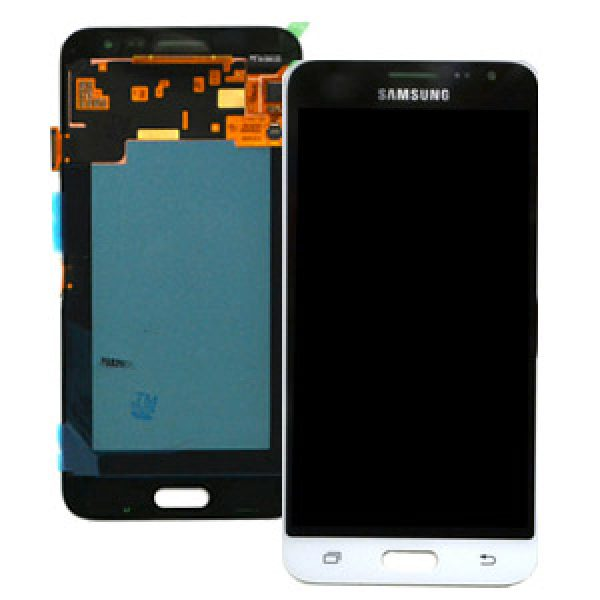 Samsung Galaxy J3 2016 SM-J320F SuperAmoled Screen with Digitizer White Genuine GH97-18414A