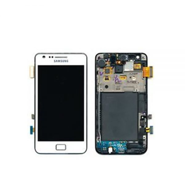 Genuine Samsung Galaxy S2 Plus Lcd Module White
