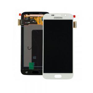 Genuine Samsung Galaxy S5 Mini G800F SuperAmoled Lcd Screen Digitizer White