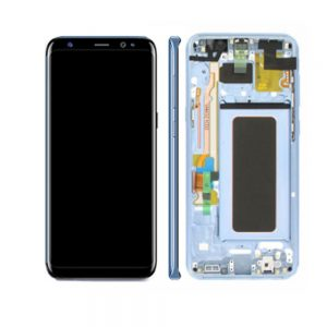 Genuine Samsung Galaxy S8 SMG950F SuperAmoled Lcd Screen Digitizer Coral Blue