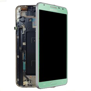 Genuine SAMSUNG Galaxy Note3 Neo N7505 Complete Green SuperAmoled Screen with Digitizer