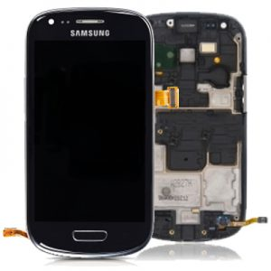 Genuine Samsung Galaxy S3 Mini i8190 Complete SuperAmoled Screen Digitizer Black