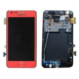 Genuine Samsung Galaxy S2 i9100 SuperAmoled Lcd Screen Digitizer Pink