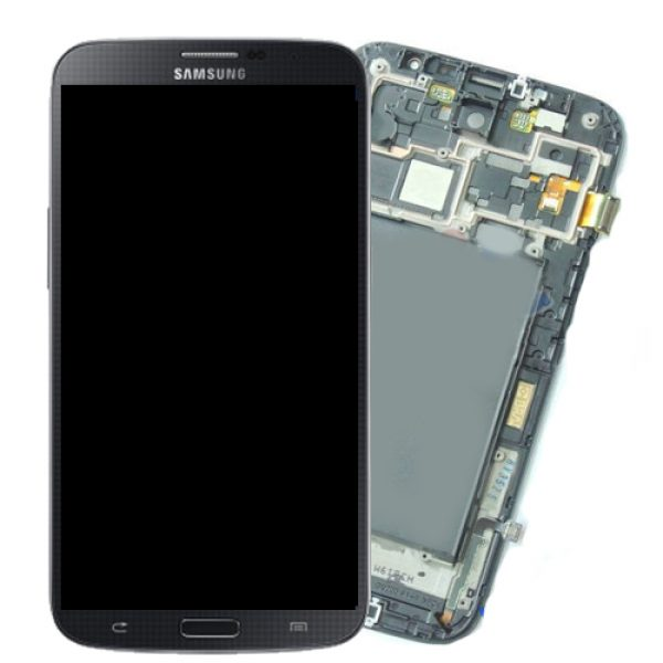 Genuine Samsung Galaxy Mega i9200 Complete SuperAmoled Screen Digitizer Black Fully Refurbished