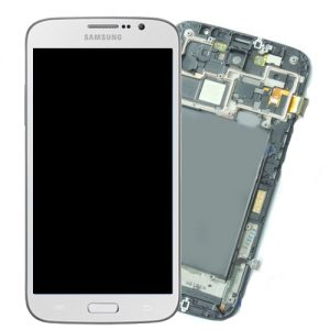 Genuine Samsung Galaxy Mega i9200 SuperAmoled Lcd Screen Digitizer White