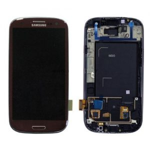 Genuine Samsung Galaxy S3 i9300 SuperAmoled Lcd Screen Digitizer Brown