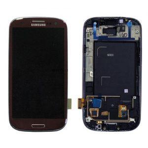 Genuine SamsungGalaxy S3 i9300 SuperAmoled Lcd Screen Digitizer Brown