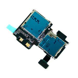Samsung Galaxy S4 i9500 Sim Card Reader Memory Card Reader Flex