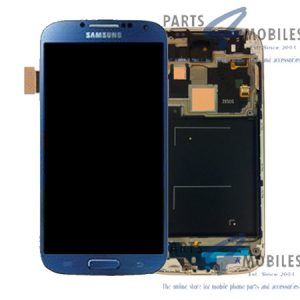 Genuine Samsung Galaxy S4 LTE i9505 Complete SuperAmoled Lcd Screen Digitizer Arctic Blue