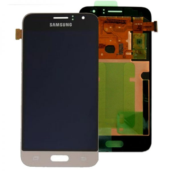 Genuine Samsung Galaxy J1 2016 SM-J120 SuperAmoled Screen with Digitizer Gold