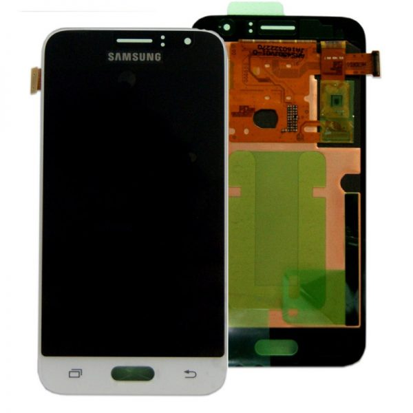 Genuine Samsung Galaxy J1 2016 SM-J120 SuperAmoled Lcd Screen with Digitizer White