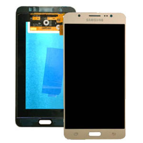 Genuine Samsung Galaxy J7 J710F 2016 SuperAmoled Lcd Screen Digitizer Gold