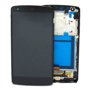 Genuine LG Google Nexus 5 D820 Complete Lcd Screen with Digitizer and Frame Black