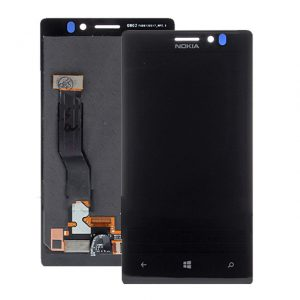 Genuine Nokia Lumia 925 Lcd and Digitizer Touch Screen with Frame Silver