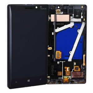 Genuine Nokia Lumia 930 Lcd Screen with Digitizer and Frame Black
