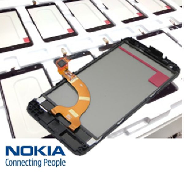NOKIA Lumia 620 Touch Screen Digitizer with Frame Genuine Part Number 00808W4