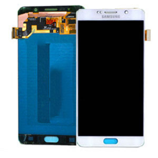 Genuine Samsung Galaxy Note 5 N920 SuperAmoled Lcd Screen with Digitizer White