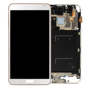 Genuine Samsung Galaxy Note3 LTE N9005 SuperAmoled Lcd Screen Digitizer White Gold
