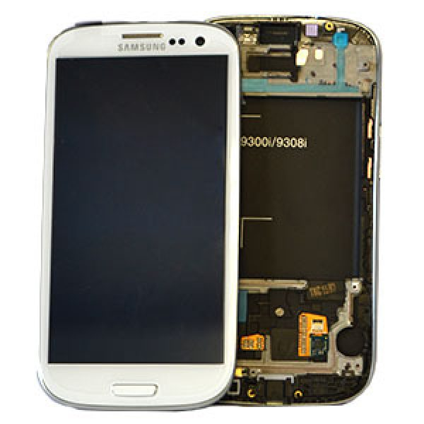 SAMSUNG i9301 Galaxy S3 Neo Genuine Lcd Screen with Digitizer White GH97-15472B