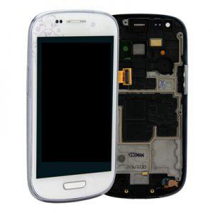 Genuine Samsung Galaxy S3 Mini i8190 Complete SuperAmoled Screen Digitizer La Fleur