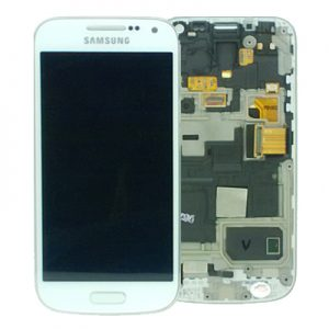 Genuine Samsung Galaxy S4 Mini i9195 Complete SuperAmoled Lcd Screen Digitizer White