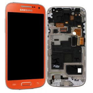 Genuine Samsung Galaxy S4 Mini I9195 SuperAmoled Lcd Screen Digitizer Orange