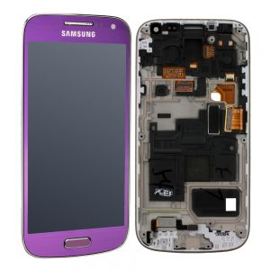 Genuine Samsung Galaxy S4 Mini i9195 SuperAmoled Lcd Screen Digitizer Purple