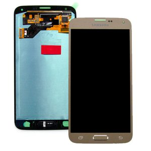 Samsung Galaxy S5 Neo SM-G903F Lcd Screen Digitizer Genuine Gold