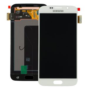 Genuine Samsung Galaxy S6 SMG920F SuperAmoled Lcd Screen Digitizer White