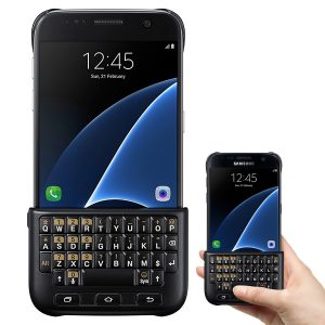 Official Samsung Galaxy S7 Bluetooth Keyboard Black Cover