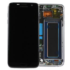 Genuine Samsung Galaxy S7 Edge G935 SuperAmoled Lcd Screen Digitizer Black | MPN: GH97-18533A | Color : Black | Delivered in UK and EU |