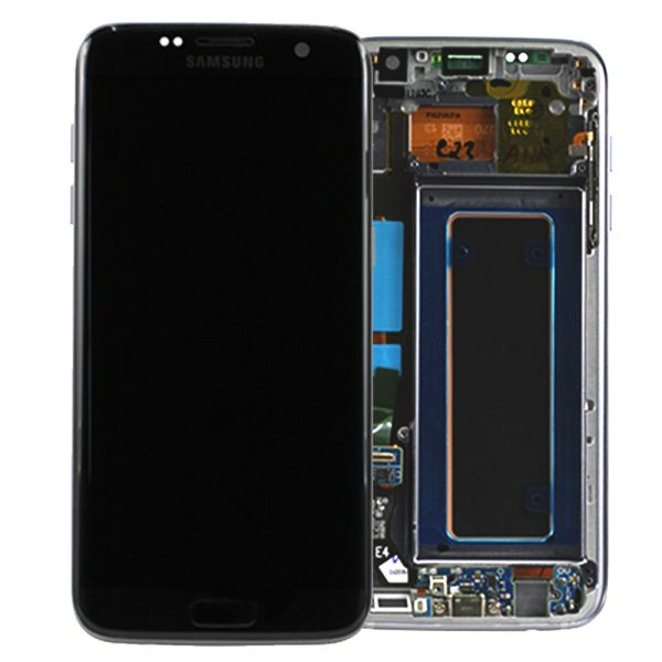 Genuine Samsung Galaxy S7 Edge SMG935F SuperAmoled Lcd Screen Digitizer Black