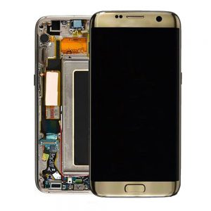 Genuine Samsung Galaxy S7 Edge SMG935 SuperAmoled Lcd Screen Digitizer Gold