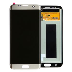 Genuine Samsung Galaxy S7 Edge SMG935F SuperAmoled Lcd Screen with Digitizer Silver