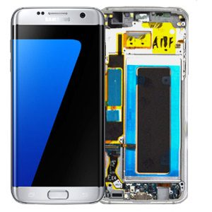 Genuine Samsung Galaxy S7 Edge SMG935F SuperAmoled Lcd Screen Digitizer White