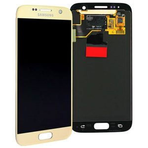 Genuine Samsung Galaxy S7 G930 SuperAmoled LCD Screen | Part Number | MPN: GH97-18523C | Color: Gold | Delivered in UK & EU |