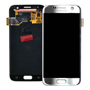 Genuine Samsung Galaxy S7 SMG930F SuperAmoled Lcd Screen with Digitizer Silver | MPN: GH97-18523B | Colour: Silver | Delivered in UK and EU.|