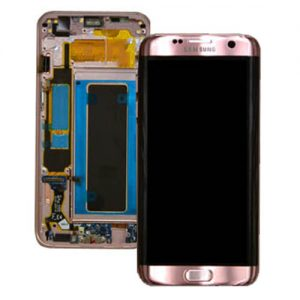 Genuine Samsung Galaxy S7 Edge SMG935F SuperAmoled Lcd Screen Digitizer Rose Gold