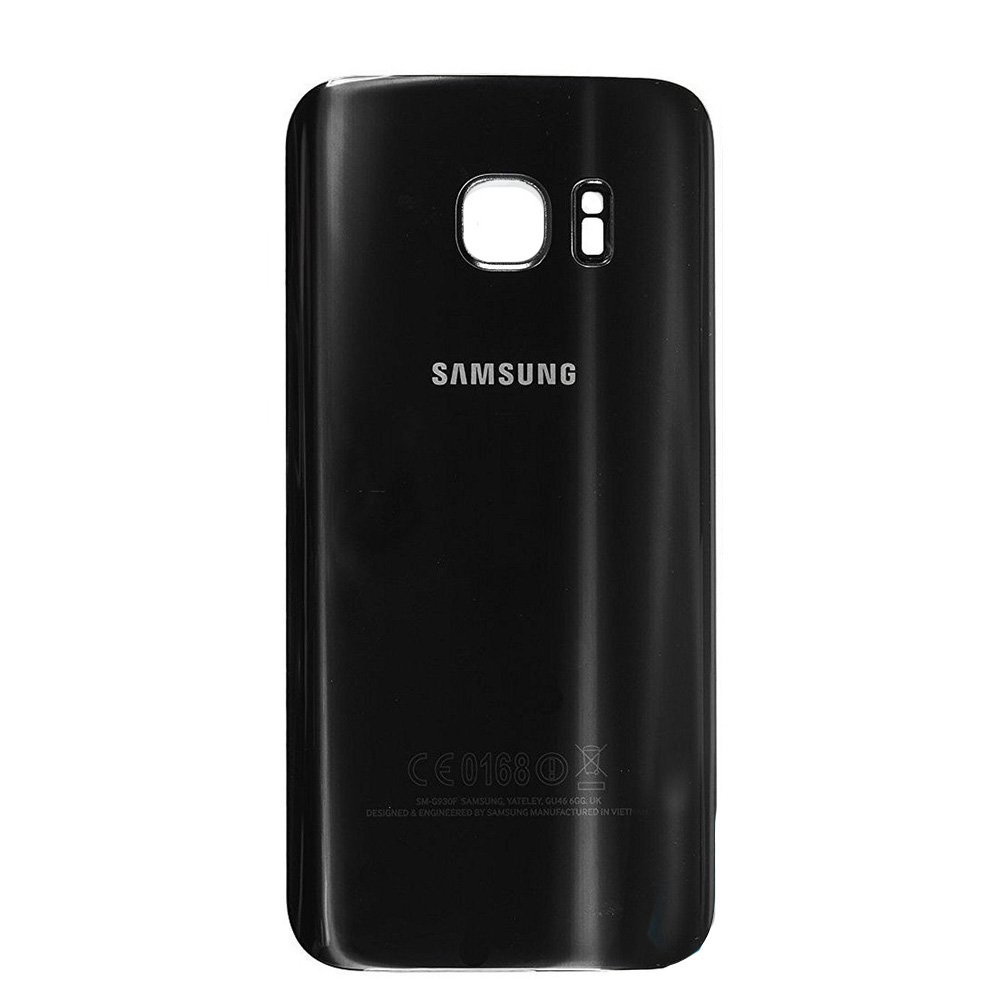 Genuine Samsung Galaxy S7 Edge G935 Battery Back Cover In Black