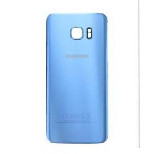 Genuine Samsung Galaxy S7 Edge G935 Battery Back Cover in Coral Blue