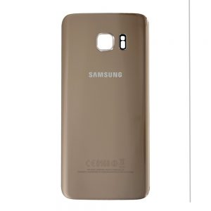 Genuine Samsung Galaxy S7 Edge G935 Battery Back Cover in Gold