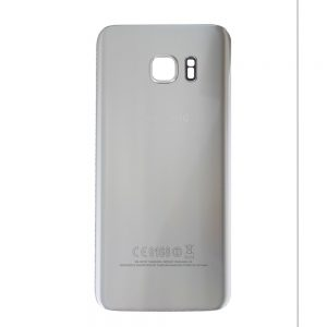 Genuine Samsung Galaxy S7 Edge G935 Battery Back Cover in Silver