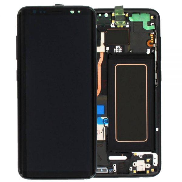Genuine Samsung Galaxy S8+ Plus SMG950F SuperAmoled Lcd Screen Digitizer Black