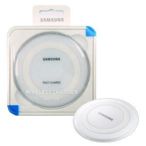 Genuine Samsung Galaxy S7 S7 Edge QI Wireless Charger Pad White