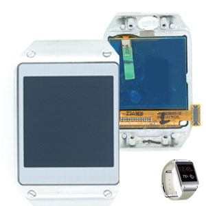Genuine Samsung Galaxy Gear SM-V700 Lcd Screen with Digitizer White