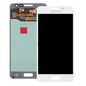 Genuine Samsung Galaxy A3 SMA300 SuperAmoled Lcd Screen with Digitizer White