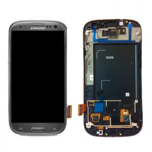Genuine Samsung Galaxy S3 i9300 Complete SuperAmoled Lcd Screen Digitizer Titanium Grey Fully Refurbished
