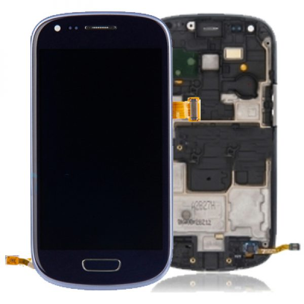 Genuine Samsung Galaxy S3 Mini i8190 Complete Lcd Screen Digitizer Blue