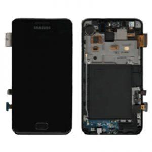 Genuine Samsung Galaxy S2 i9100 i9100P SuperAmoled Lcd Digitizer Black