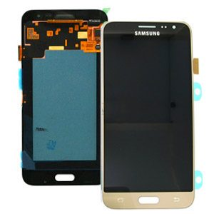 Genuine Samsung Galaxy J3 2016 J320 SuperAmoled Screen with Digitizer Gold